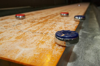 SOLO® Shuffleboard Movers Charlottesville, Virginia.